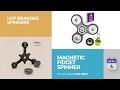 Magnetic Fidget Spinner Hot Branded Spinners