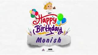 Happy Birthday Monish
