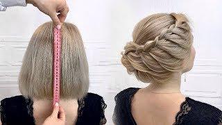 17 Быстрых причесок на короткие волосы Простые и легкие прически