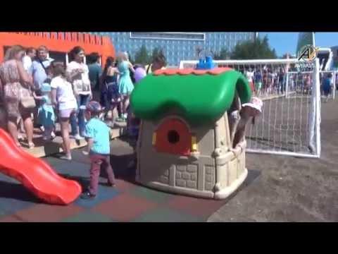 Детское игровое оборудование «Авира» и надувные футбольные ворота AVIRAGOAL 1 июня!