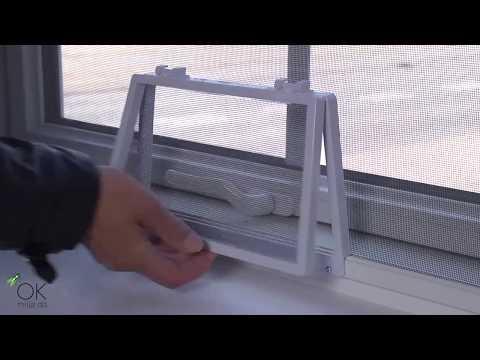 Fantastisk Insektnet til døre og vinduer - YouTube DO43