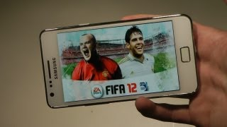 FIFA 12 Samsung Galaxy S2 Android Gameplay & Review HD