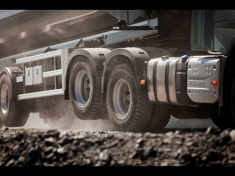 Volvo Trucks – Better grip and lower fuel consumption with the new Tandem Axle Lift