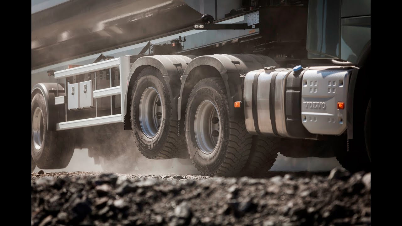 Volvo Trucks – Better grip and lower fuel consumption with Tandem Axle Lift