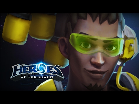 ♥ Heroes of the Storm (Gameplay) - Lucio, That's My Jam!