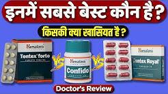 Who is the best? Himalaya confido, Himalaya tentex forte and Himalaya tentex royal, Dr.Mayur Review