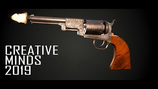 Asset Model Creative Minds 2019 Colts Patent Vintage Revolver  by Rohit Singh