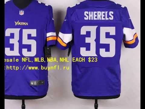 Minnesota Vikings 35 Sherels Cheap NFL Jerseys China From buynfl.ru Only   23 Wholesale Price 026d82d6a