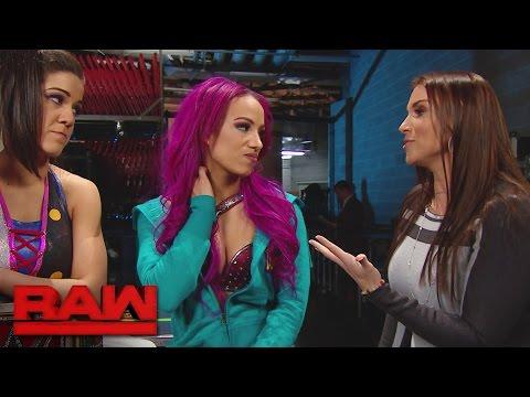 Stephanie McMahon reveals Sasha Banks' WWE Fastlane opponent: Raw, Feb. 27, 2017