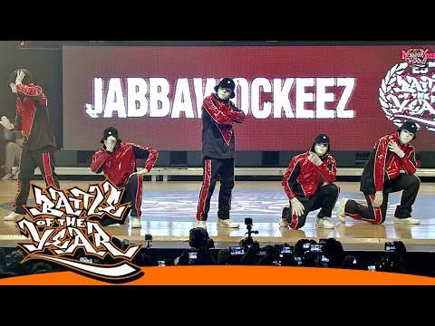 INTERNATIONAL BOTY 2014 - JABBAWOCKEEZ - SPECIAL SHOWCASE [BOTY TV]