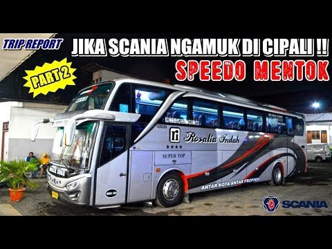 TRIP - KRAAK.. SPION KESENGGOL BIS LAIN !!! LANGSUNG DIHADANG, UNTUNG DRIVERNYA SABAR [PART 2]