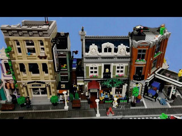 Bau einer Legostadt (Teil 23) Einige neue Gebäude
