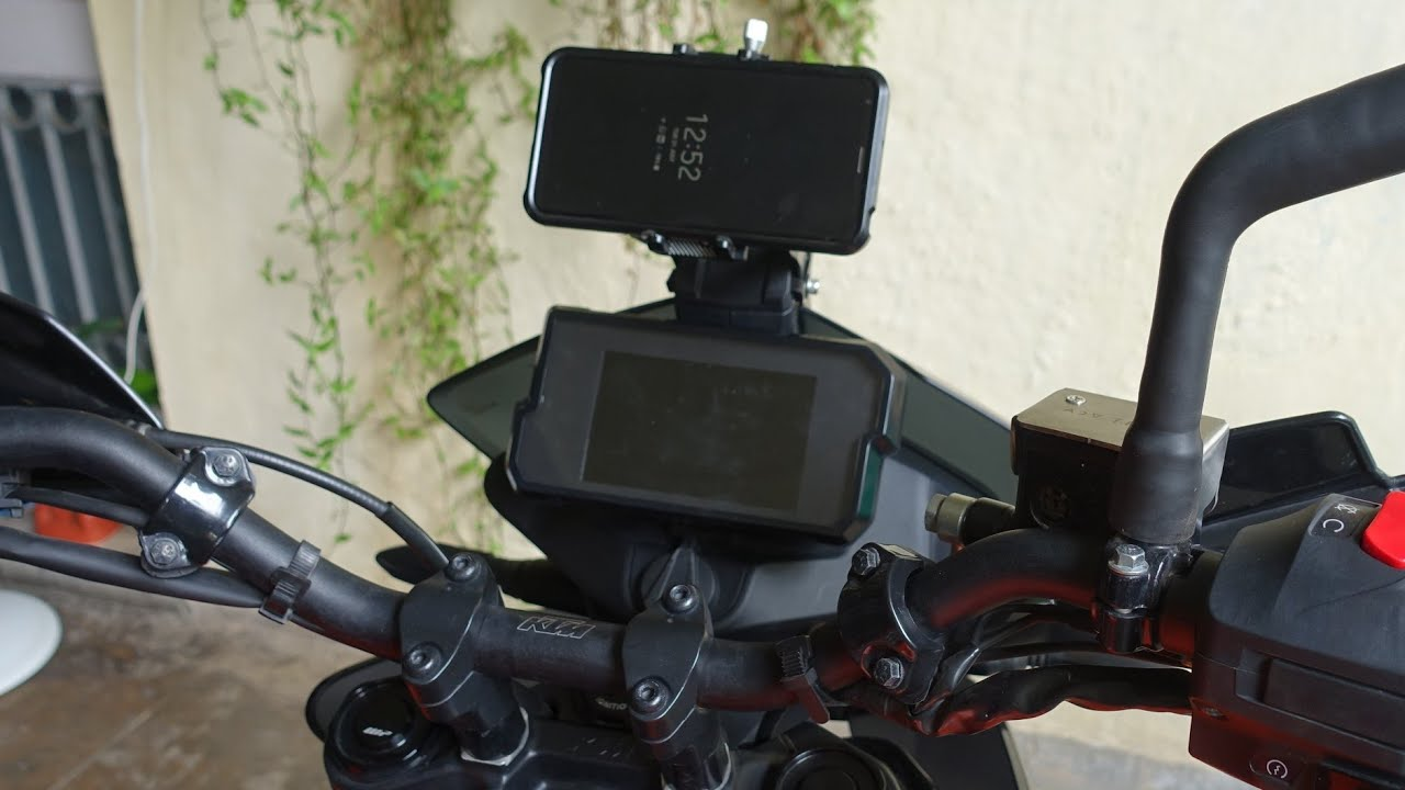KTM 390 Adventure Gets ADVTribe Phone Mount: This Gives The Best View