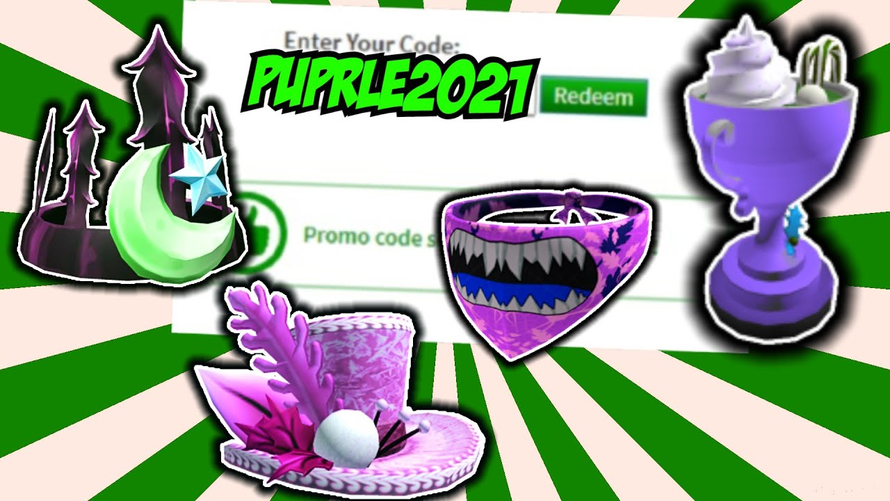 *7 CODES!?* ROBLOX PROMO CODES 2021 February - YouTube
