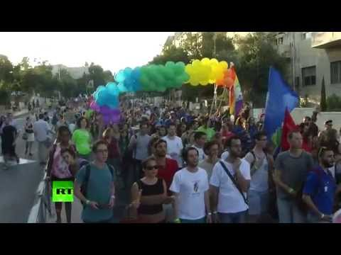 Ортодоксальный еврей с ножом напал на участников гей-парада в Иерусалиме, ранены шесть человек