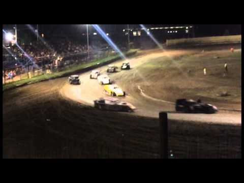 "Creek County Speedway 6/27/15 Modified ""A"" Feature"