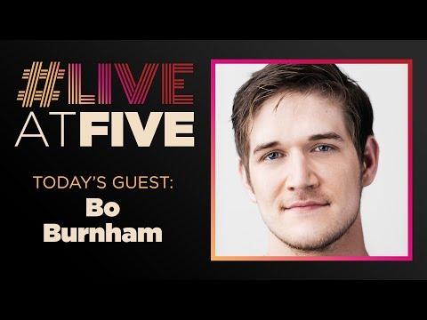 Broadway.com #LiveatFive with Bo Burnham of EIGHTH GRADE