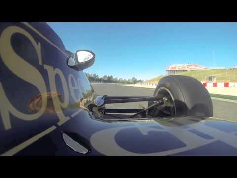 Lotus 91 Circuit de Barcelona Esperit de Montjuic 2014 Qualifying Part 1