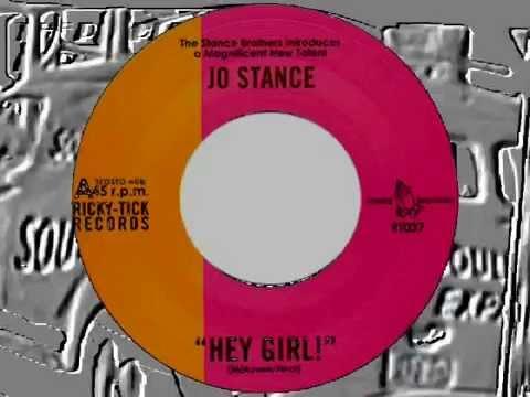 JO STANCE - HEY GIRL (RICKY TICK) #NORTHERN SOUL CANADA
