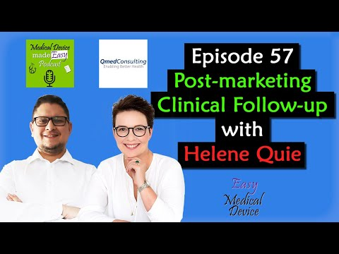 PMCF Or Post-Marketing Clinical Follow-Up With Helene Quie (MDR 2017/745)