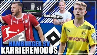 NEUE SPIELER & VIELE ABGÄNGE !! 🔥 DER UMBRUCH BEGINNT !? 😱🤔 - FIFA 18 Hamburger SV Karriere #2