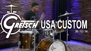 Gretsch USA Custom Drum Set 20/12/14 - Antique Maple (GUSA201214AM)