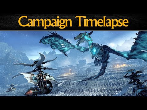 CAMPAIGN TIMELAPSE - Total War: Warhammer (Norsca Update)