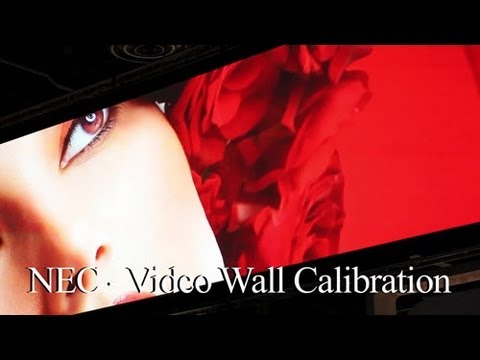 How to do a Video Wall Calibration | NEC Display Solutions