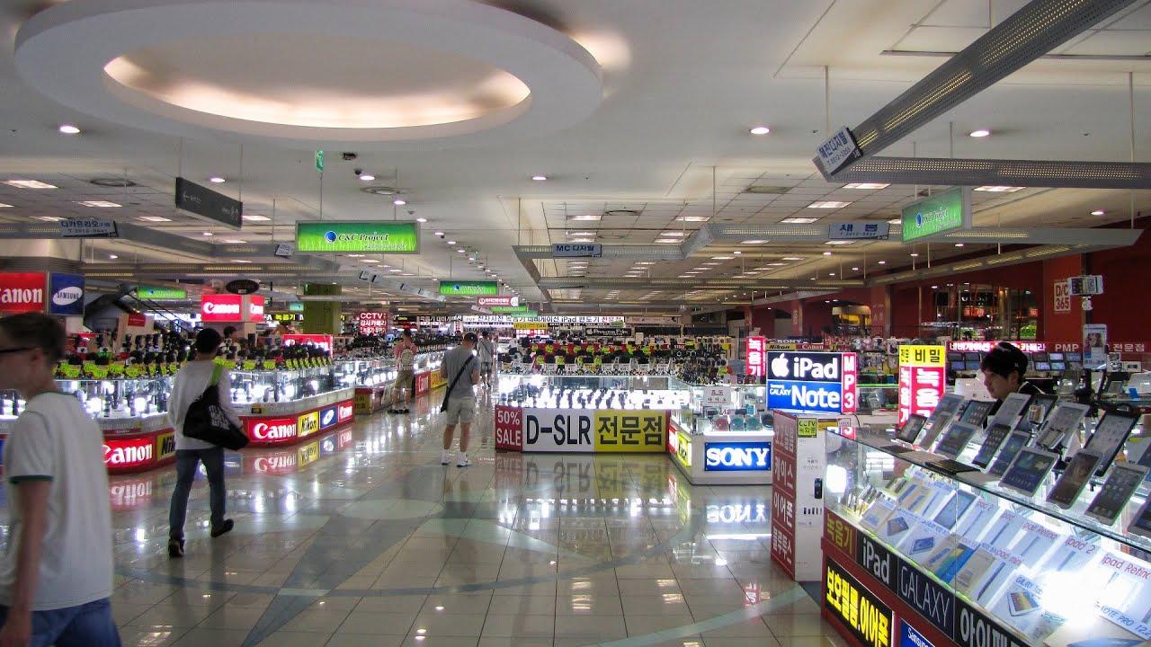 Yongsan Electronics Market June 2014 용산 전자상가 - YouTube 8794f1e0b61