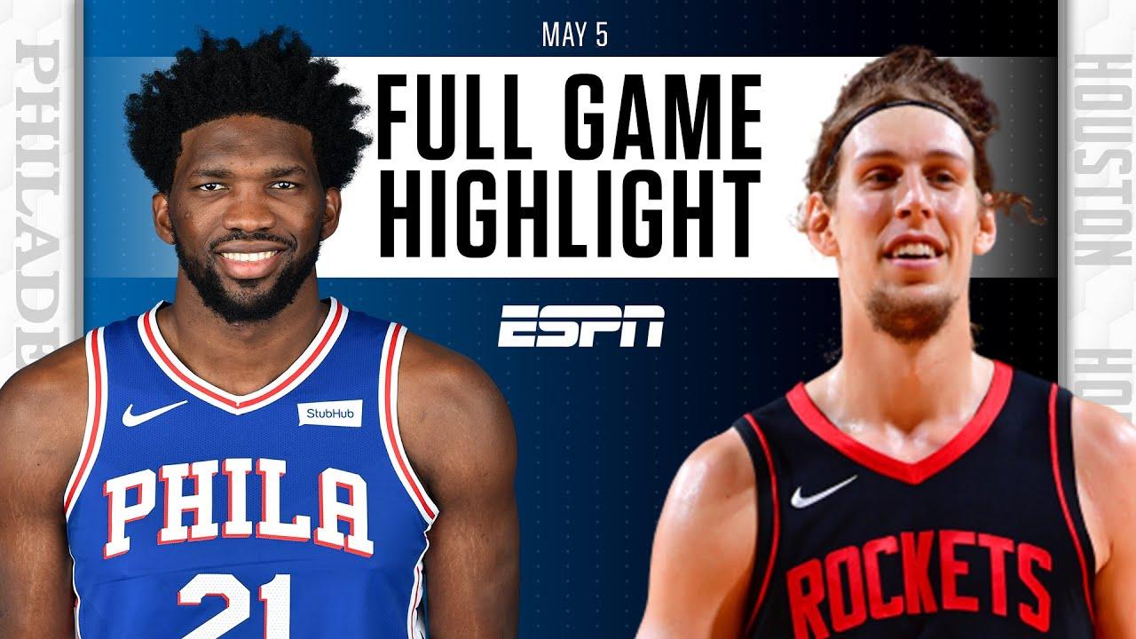 Philadelphia 76ers at Houston Rockets | Full Game Highlights