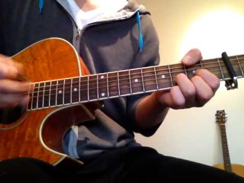 How To Play Seven Days By The Mighty Oaks Guitar Cover Youtube
