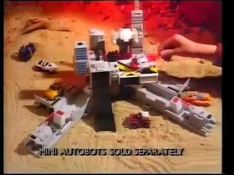 Transformers Metroplex 1980s (Vintage toy Advert)
