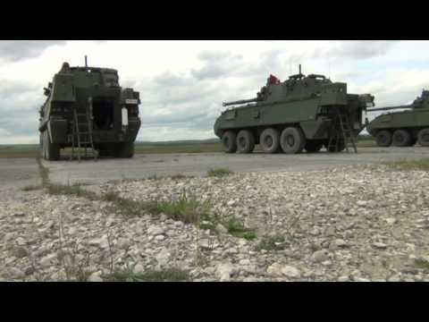 Bataljon Bevrijding - 5 Linie at Grafenwöhr Training Area - First day