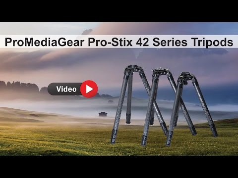 Pro Stix Carbon Fiber Tripod by ProMediaGear overview and features