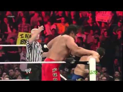 WWE Raw - The Great Khali & The Big Show vs. Primo & Epico