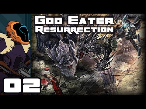 Let's Play God Eater Resurrection - PC Gameplay Part 2 - Bullet Crafting Is Dense!