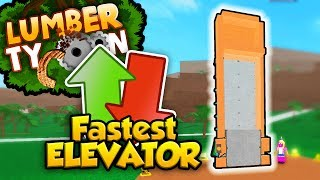 The Fastest Elevator in Lumber Tycoon 2! (TUTORIAL)