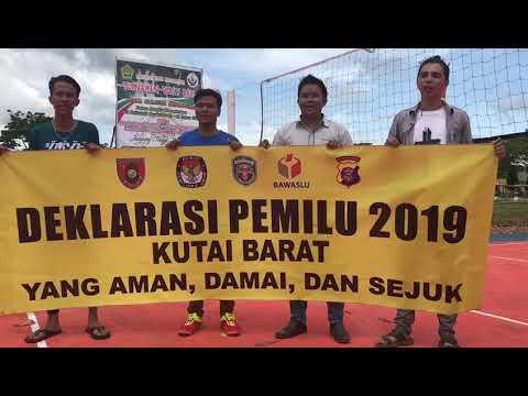 Klub Volly Politeknik Sendawar Siap Mensukseskan Pemilu 2019 Yang Aman, Damai Dan Sejuk