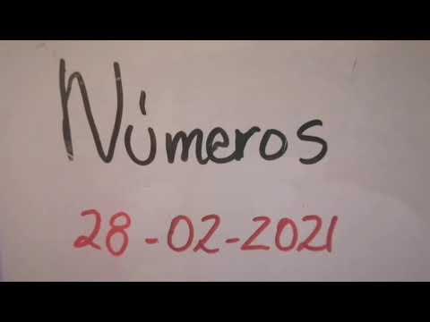 Números para 28/02 /2021 tica, Nica, domi, Honduras y NY