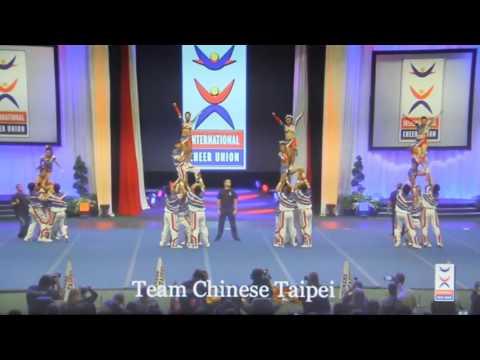 Team Chinese Taipei - 2016 International cheer union - Coed Premier 台灣