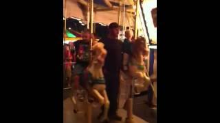 Glendon and savannah at NH fair 2012