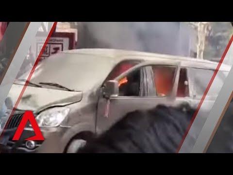 Shanghai van crash