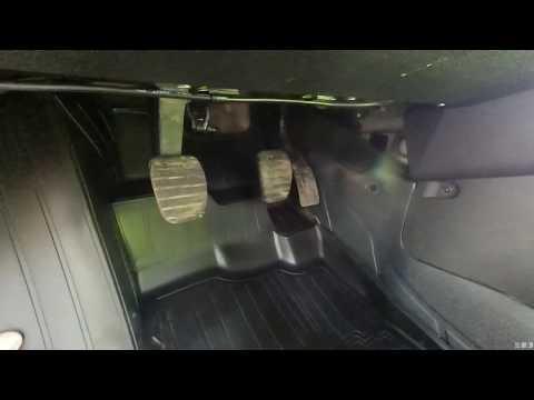 Оригинальный Коврик водителя на Рено Дастер (Рестайлинг).С 2015 г.