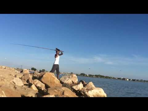 How to throw fishing rod at in seashore in caperlan lure at in india , tamilnadu, thoothukudi #laaaa