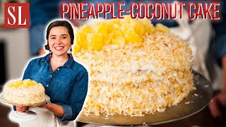 South's BEST Pineapple-Coconut Cake Recipe | Sweet and Creamy Deliciousness | South's Best Recipes