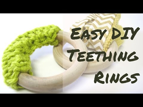 Super Easy Crafts | Teething Rings | Crochet & Sewing for Beginners