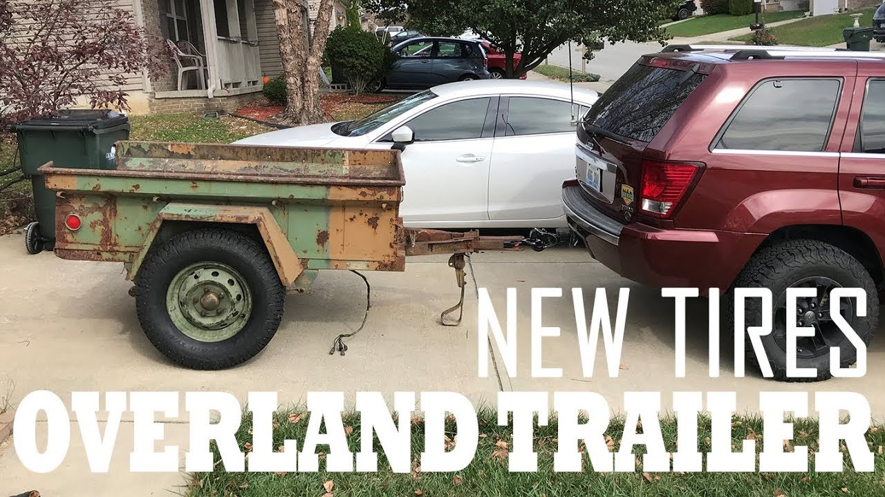 Picking wheels and tires for the M416 - Overland Trailer Ep2