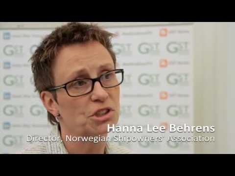 Interview with Hanna Lee Behrens, Norwegian Shipowners Association - GST 2012