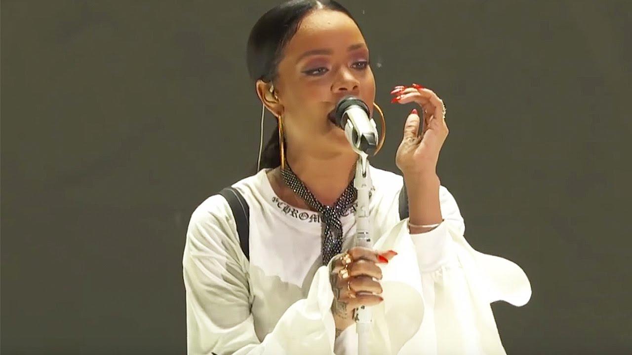 Download Rihanna Diamonds   Live at Global Citizen Festival 2016