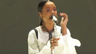 Download Rihanna Diamonds | Live at Global Citizen Festival 2016 Mp3 and Videos
